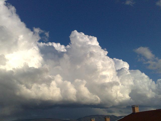 Nubes de tormenta.