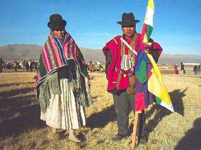 Fiesta Aymara, Bolivie