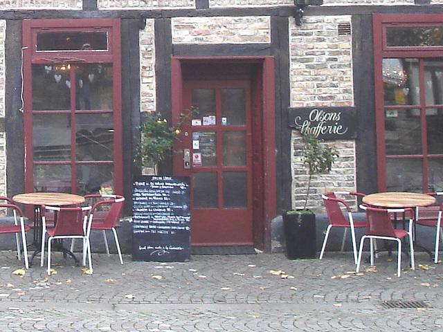 Olsons cafe -  Helsingborg / Suède - Sweden.   22 octobre 2008 - Originale éclaircie