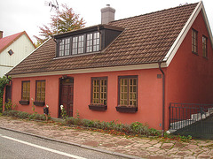 Maison /  House  No-50.   Båstad -  Suède  /  Sweden.  21-10-2008