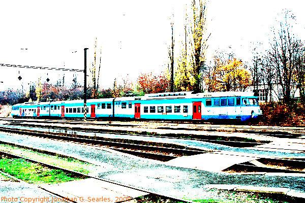 CD #451050-9 at Hostivar in Fall, Supersaturated Version, Prague, CZ, 2008
