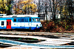 CD #451050-9 at Hostivar in Fall, Picture 2, High-Saturation Version, Prague, CZ, 2008