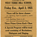 Spelling Bee, Terre Hill, Pa., April 3, 1925