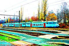 CD #451050-9 at Hostivar in Fall, Supersaturated Version 2, Prague, CZ, 2008
