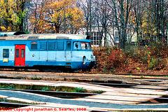 CD #451050-9 at Hostivar in Fall, Picture 2, High-Saturation Version 2, Prague, CZ, 2008