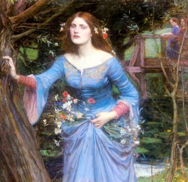 Ophelia, œuvre de John William Waterhouse