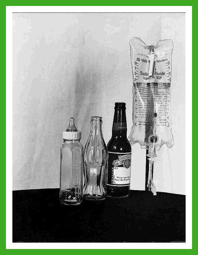 La vie résumée en 4 bouteilles