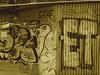 ET colourful pipi-caca shack. - Copenhague /   20-10-2008-  Sepia
