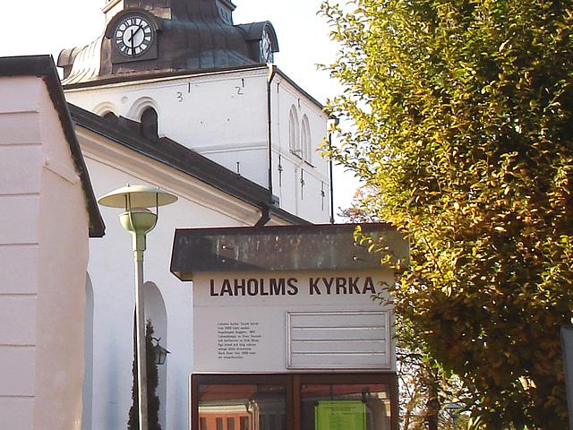 Laholm kirka /   Suède - Sweden.  25 octobre 2008