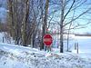 Arrêt hivernal / Winter stop