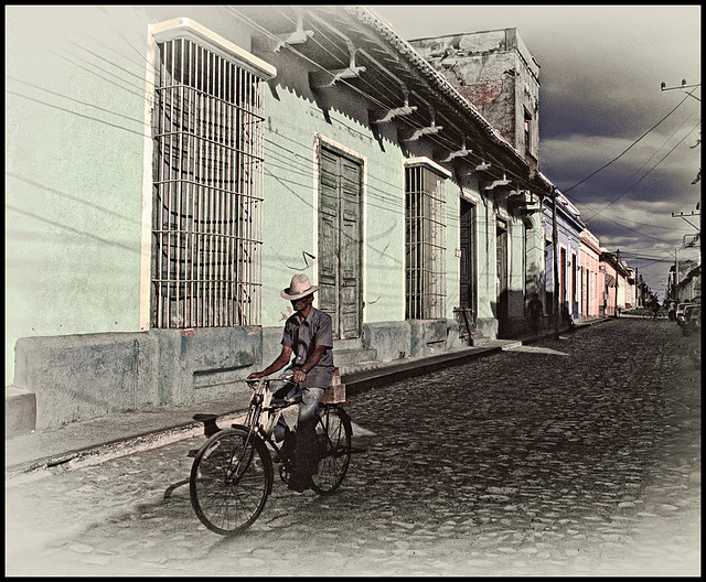 The Cyclist in Trinidad
