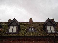 Maison  Skanegarden house - Båstad / Suède - Sweden.  21-10-2008- Sombrement original