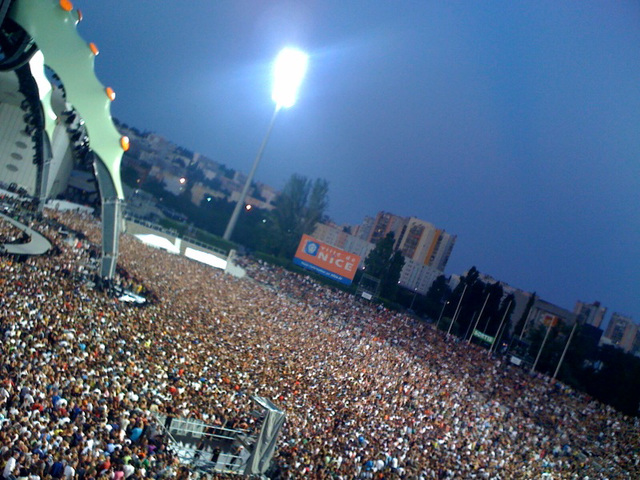 U2, Nice, 60 000 fans