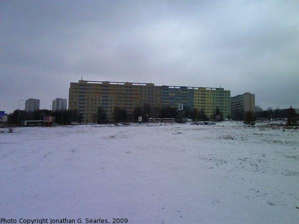 Sidliste Krc in the Snow, Prague, CZ, 2009