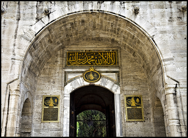 Topkapi entrance