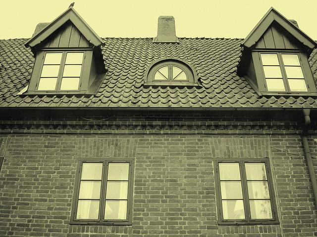 Maison  Skanegarden house - Båstad / Suède - Sweden.  21-10-2008-  Photo ancienne