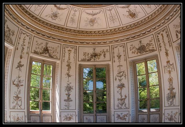 Intèrieur du belvédère / Inside the belvedere