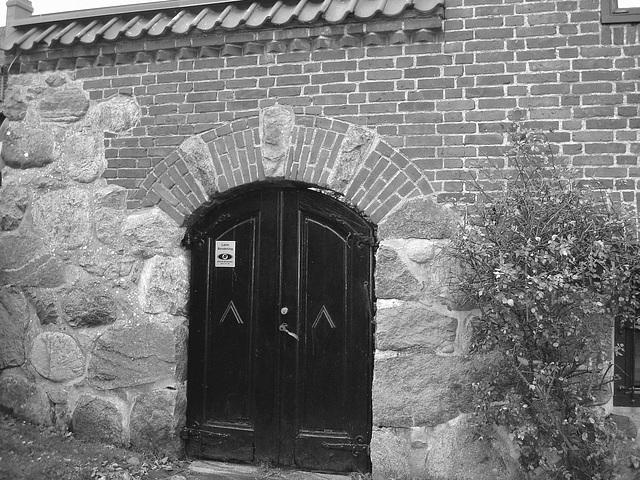 Maison  Skanegarden house - Båstad / Suède - Sweden.  21-10-2008  - N & B