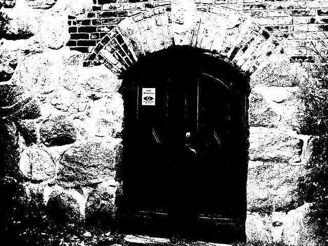 Maison  Skanegarden house - Båstad / Suède - Sweden.  21-10-2008 -  Bichromisée en noir et blanc