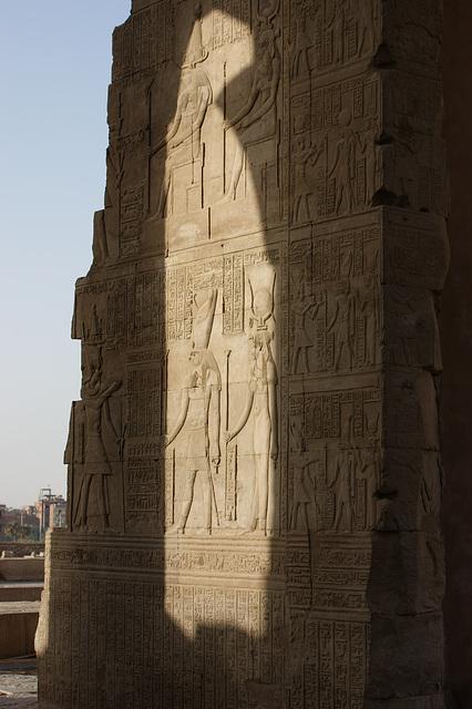 Vestiges en Egypte (jeux de lumière)