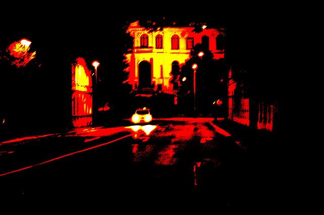Altenburg by night