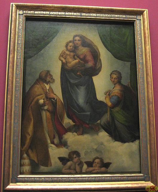 2009-06-16 06 Alte Meister, Sixtinische Madonna