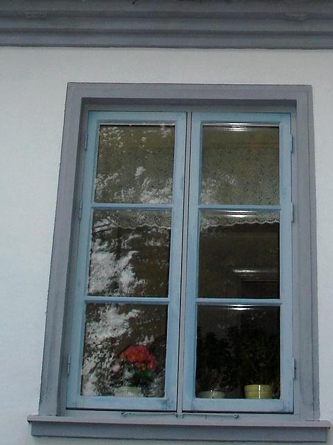 Maison aux fenêtres reflectives / Windows reflections house - Båstad /  Suède - Sweden.   21-10-2008