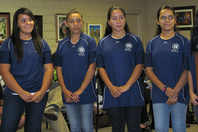 Some Of The DHS Aztecs AYSO Team (0442)