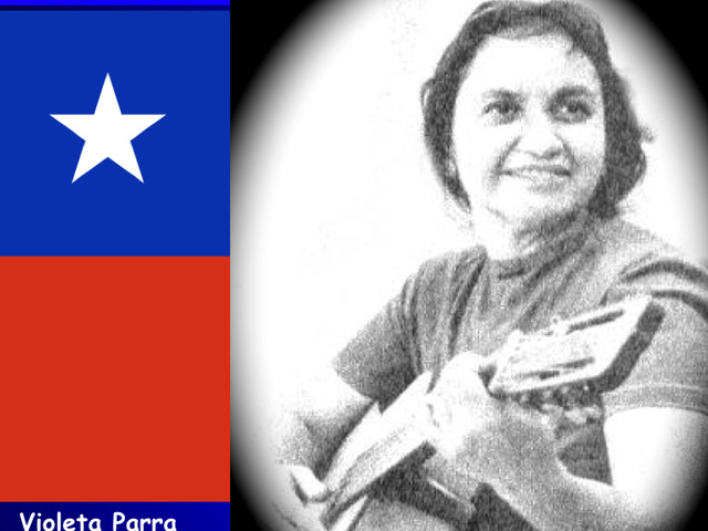 Run Run Se Fue Pa'l Norte, Violeta Parra