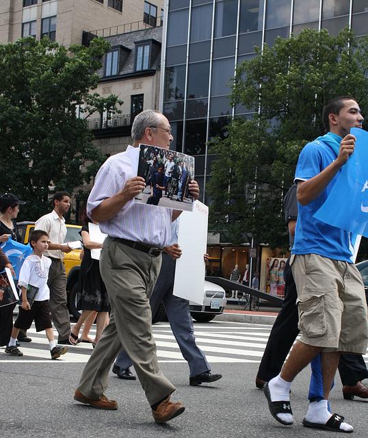 21.UighursMarch.ConnecticutAvenue.WDC.7July2009