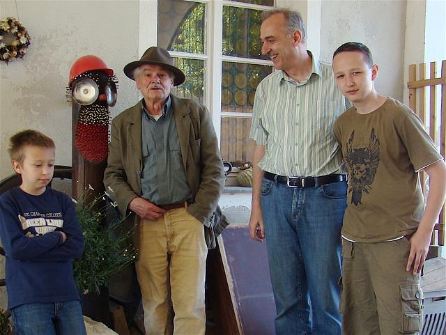 visiting an artist