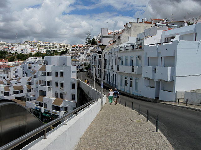 Algarve, Albufeira, the upper city