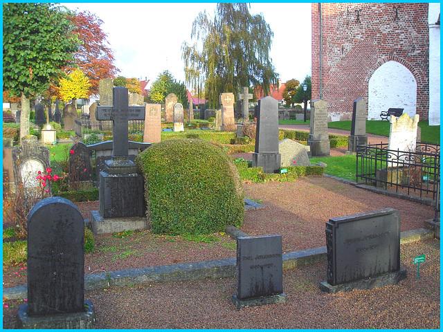 Cimetière de Båstad  /   Båstad  cemetery - Suède / Sweden - 22 octobre 2008