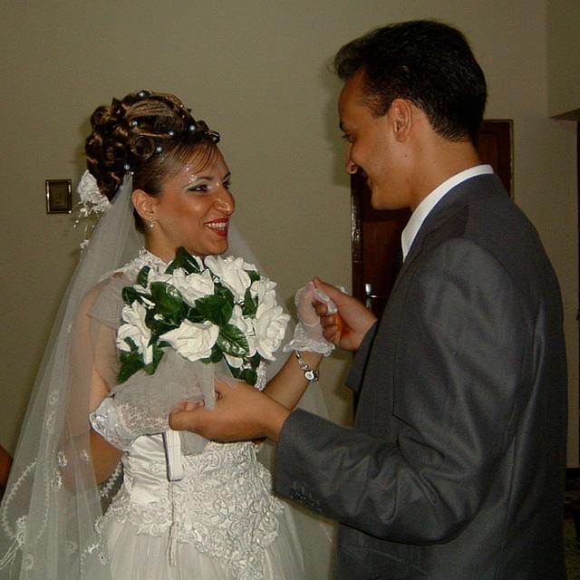 Leur mariage...