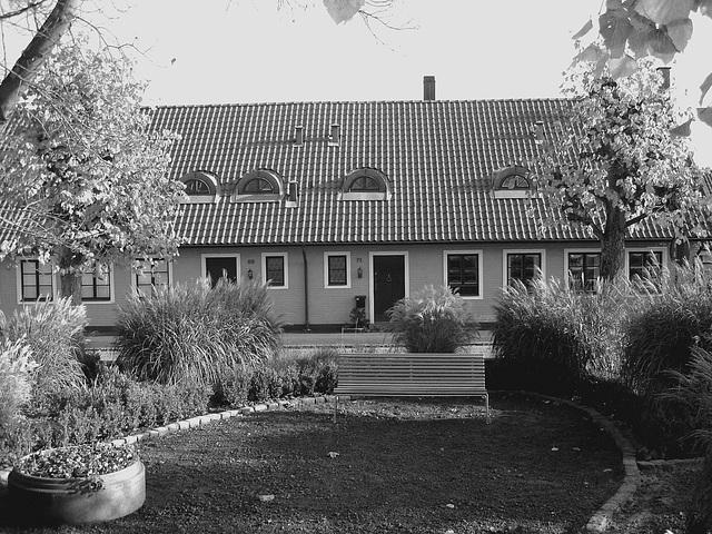 Båstad  /  Suède - Sweden.  25 octobre 2008 - N & B