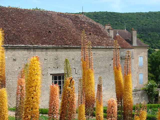 Bourgogne les jardins de Barbirey