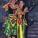 Rama and Sita at the Kecak dancing