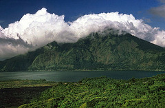 Lake Batur and Mount Abang (2151m)