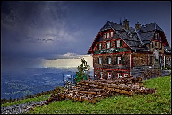 """""""Stubenberghaus"""" on Schöckel mountain"""