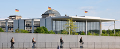 Feierabend im Bundestag