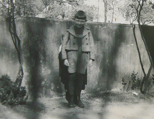 Schulanfang - Ostern 1938