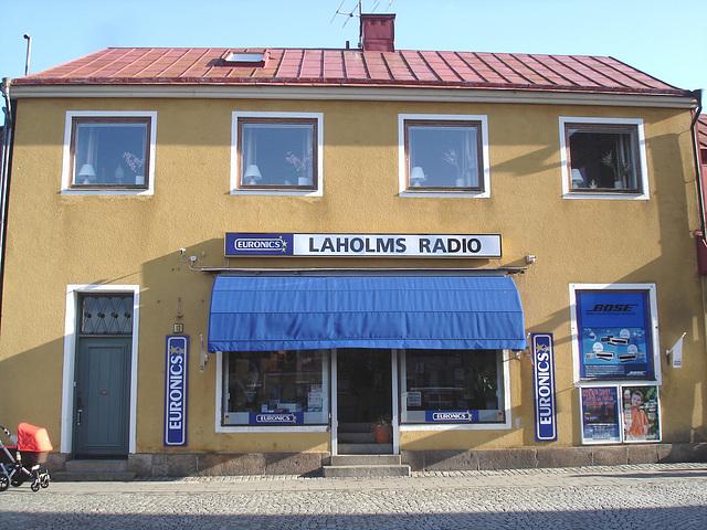 Laholms radio /   Laholm - Suède /  Sweden.   25 octobre 2008