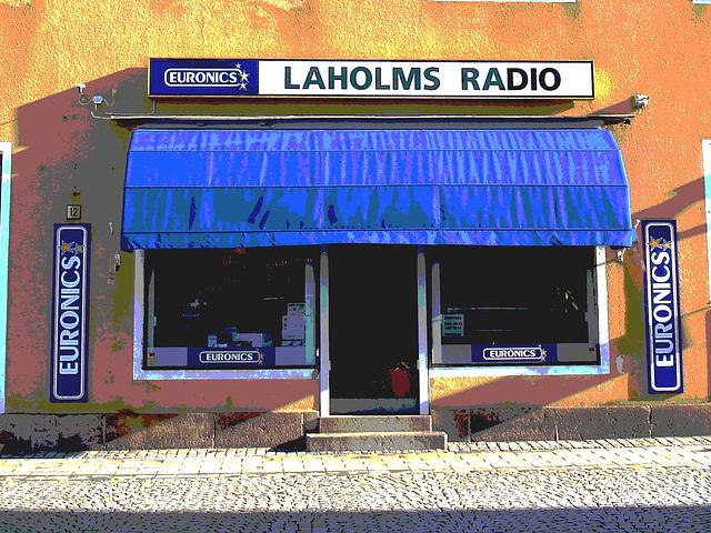 Laholms radio /   Laholm - Suède /  Sweden.   25 octobre 2008-  Postérisation
