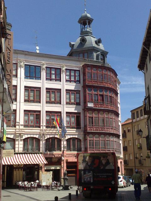 Edificio en Logroño.