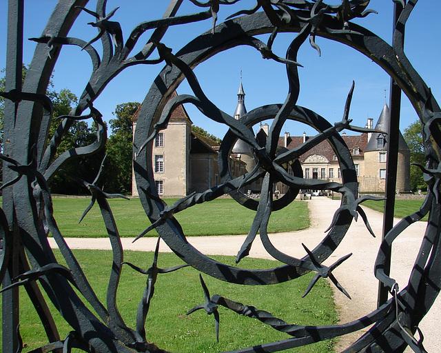 Bourgogne château de Comarin