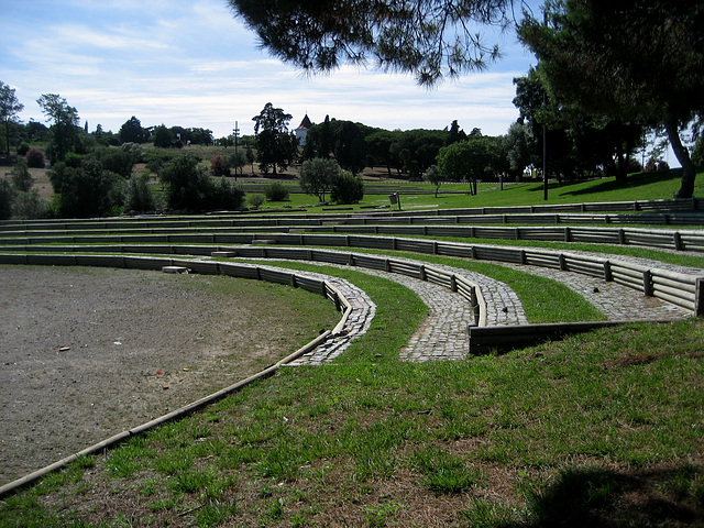 Lisboa, Park of Monsanto, Amphitheatre Keil do Amaral (1)