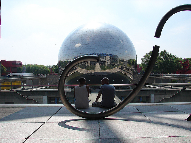 Paris la géode
