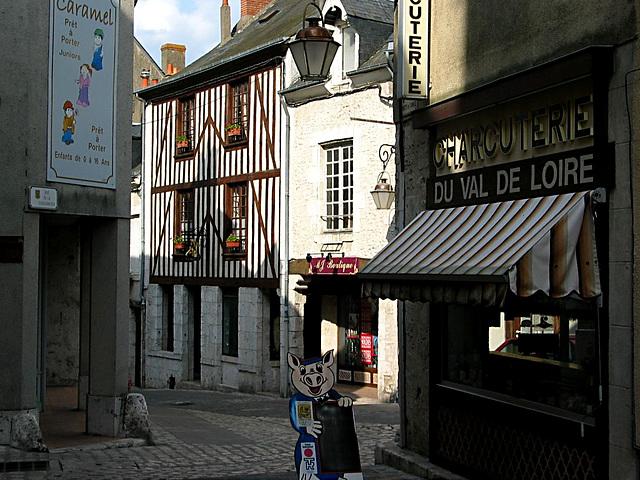 Gasse in Beaugency - Loiretal