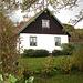 Maison suédoise dans un coin paisible -  Black & White swedish house - Båstad  / Sweden - Suède.   21-10-08