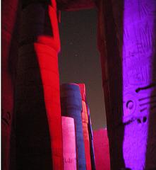 Illumination Karnak-Tempel